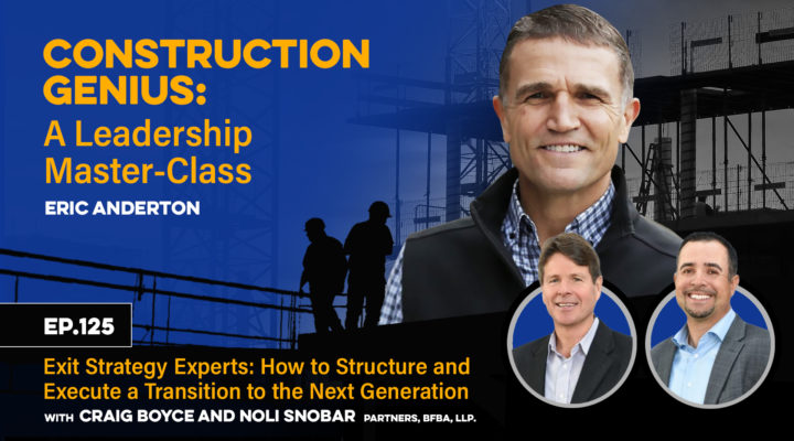 Exit Strategy Experts How to Structure and Execute a Transition to the Next Generation YT
